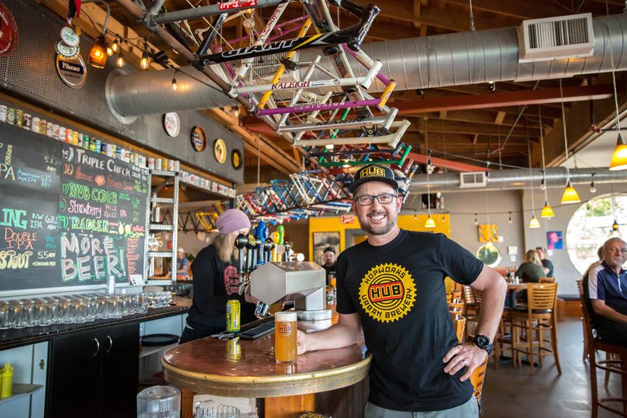 Christian Ettinger of Hopworks Urban Brewery