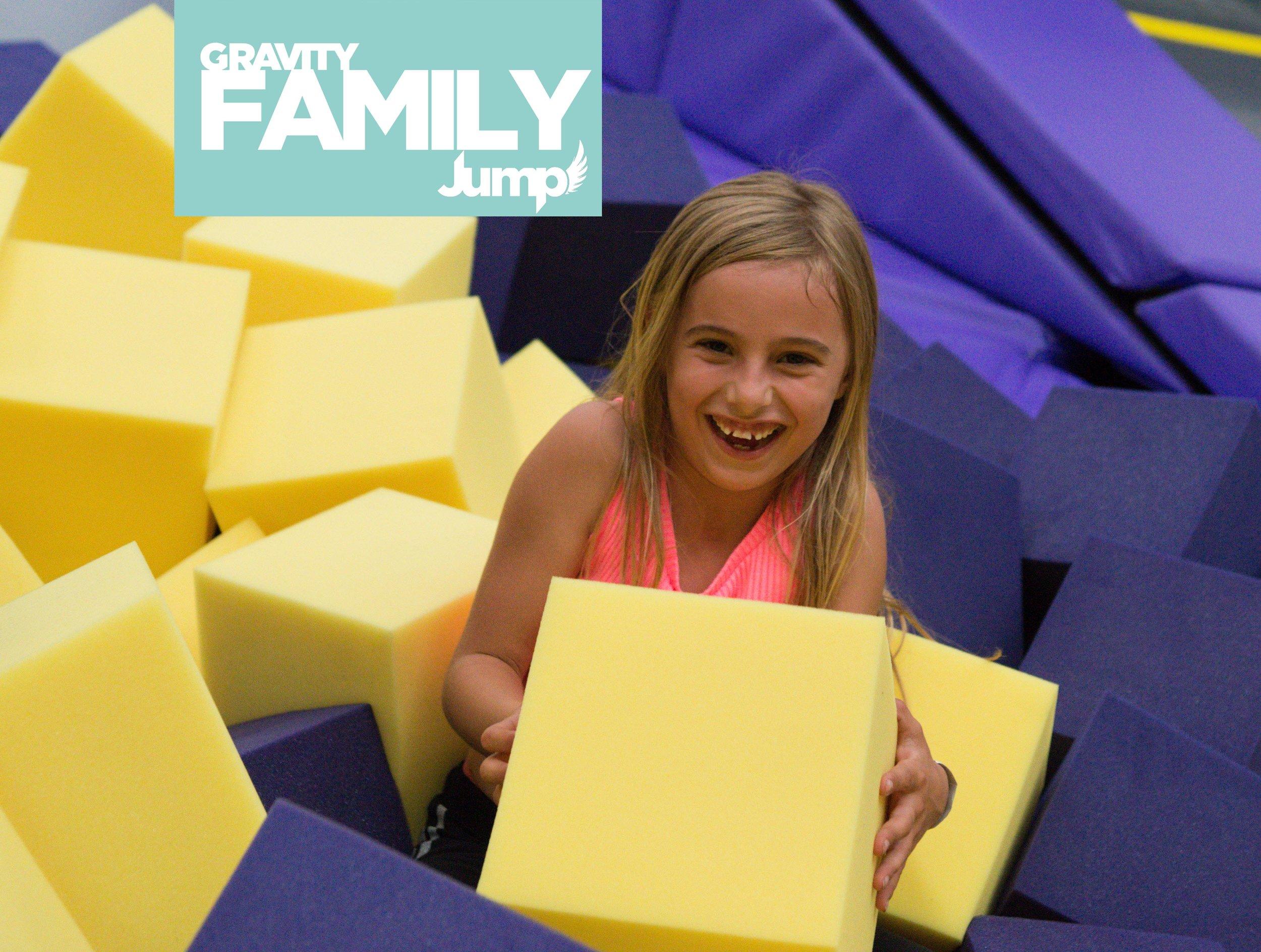 Family fun activities - trampoline park in Camberley