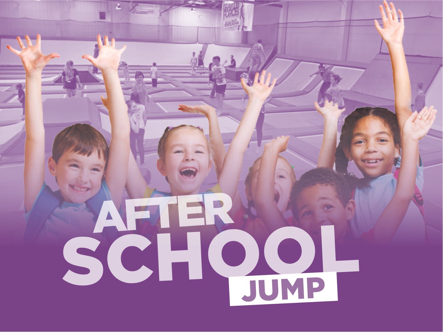 The perfect end to every school day. - After school jump and meal deal.Starting week commencing 8th May we are launching our after school Jump and meal deal.The deal is Available across during the 4pm to 5pm session Monday to Thursday.Priced at just £10, the deal includes one hour jump followed by a hot dog and your choice of a slushi or bottled water.The offer is available term time only and all bookings during the session will be entitled to the meal deal.To find out more please contact your local park.Annual Pass holders can attend this session free as per the annual pass terms and conditions but this excludes the meal deal. This can be added on at point of sale for £2.50. To book your after school jump session click below.For full terms click here.