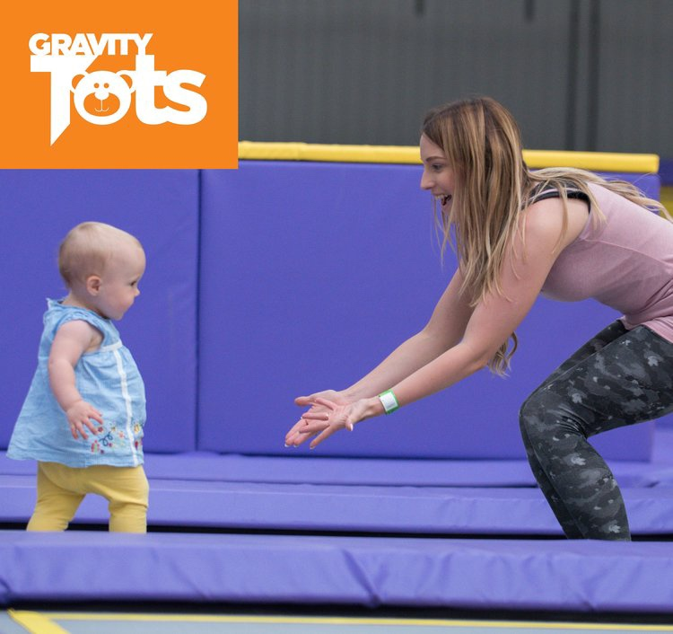 Days out for toddlers don't get more fun than this! Gravity Tots offers quality top notch bouncing and bonding time with your little ones aged 5yrs and under.