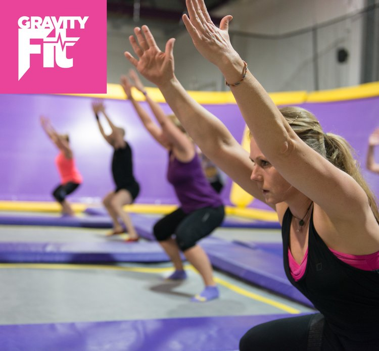 Why not enjoy working out, trampoline fitness is three times more effective than jogging whilst reducing the impact on joints by 80%