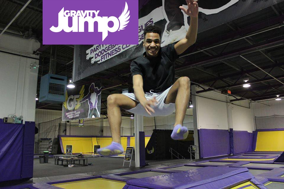 Gravity Jump offers more than jumping off our walls! Soar, leap and flip into our foam pit, dodgeball court & more.