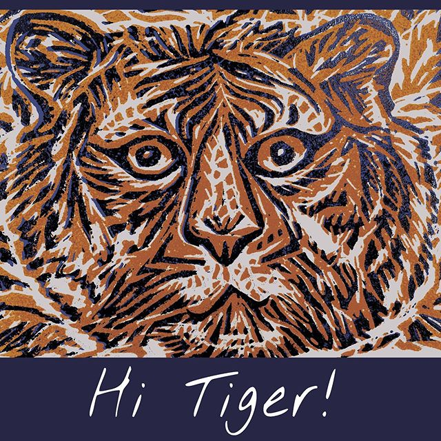 Have a nice day! We love tigers! ❤️ 🐅🐅🐅 #birdsontherun #accessories #naturalmaterials #home #cushion #cushioncover #hat #scarf #gloves #embroidery #beanie #captainscap #cap #kimono #amsterdam #label #graphicdesign #prints #design