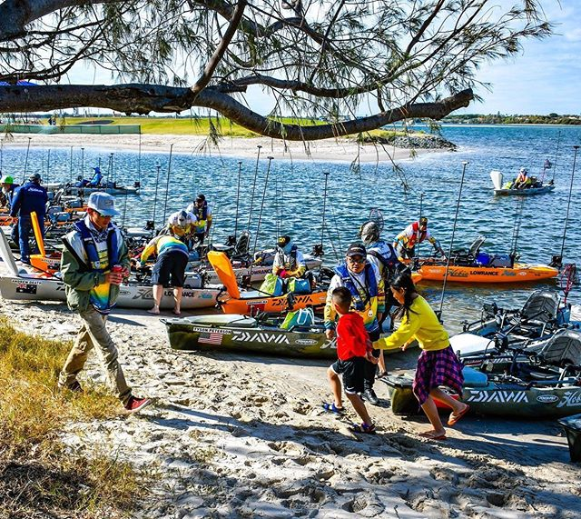Hobie Fishing Worlds 8 i Gold Coast! Imorgon börjar VM! @crazzy_viking & @felixfreyfishing ska göra sitt bästa att ta hem det till 🇸🇪😍