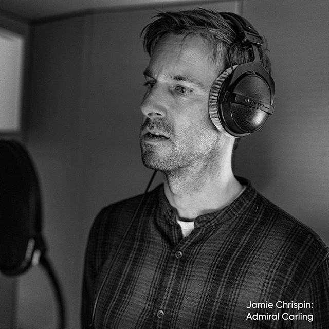 Jamie Chrispin playing Admiral Carling. He has a great legacy to live up to and is reminded of it constantly. ... ... #radio #radioplay #indiproduction #independentfilmmaker #independantfilm #indeproduction #actor #actorslife #voiceacting #voiceactor #syfy #fantasy #steampunk #story #play #sciencefiction
