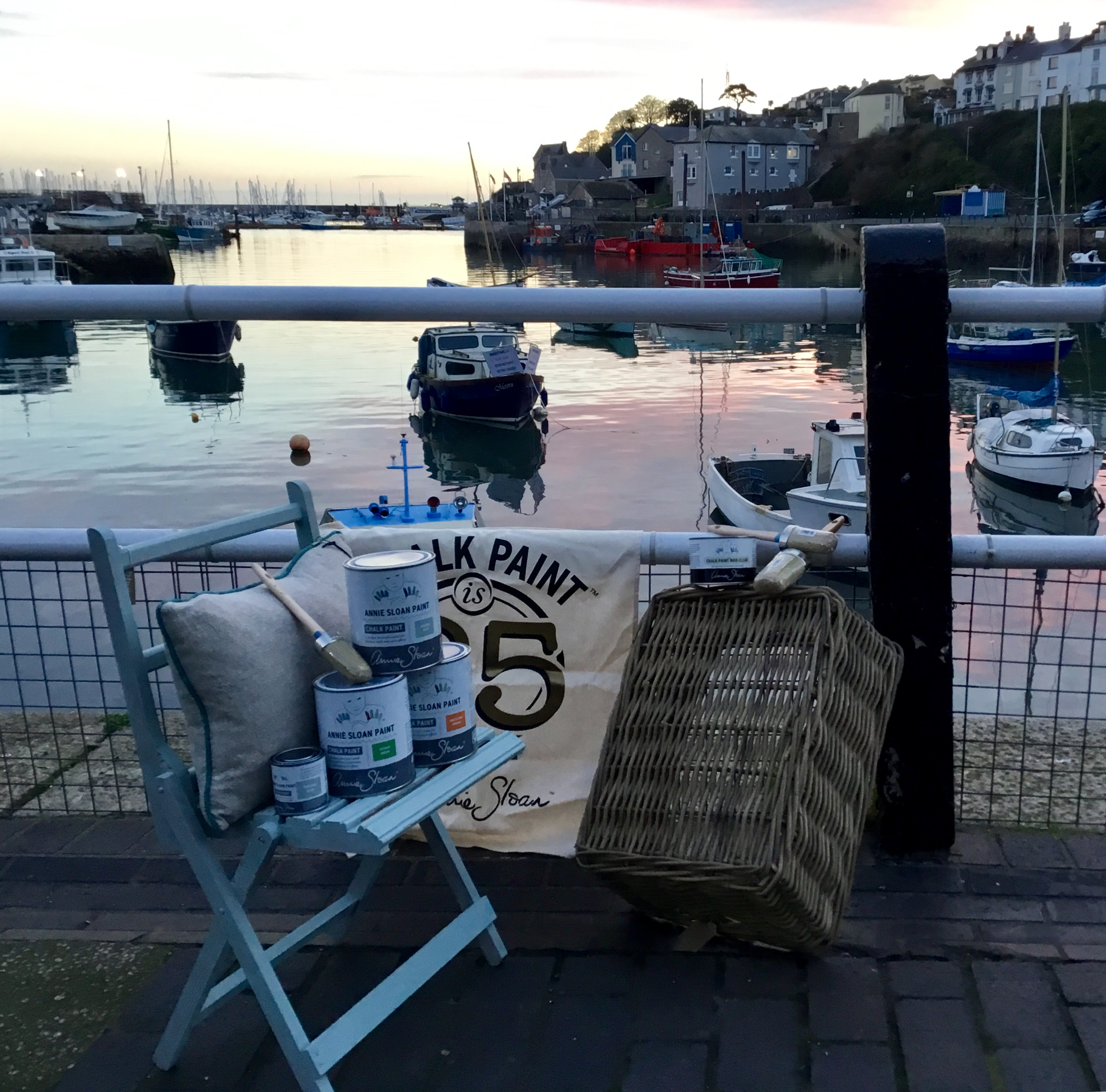 Beautiful Brixham , wander to the harbour before your workshop…….