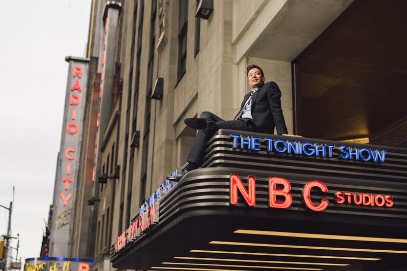 NEW YORK TIMES   JIMMY FALLON