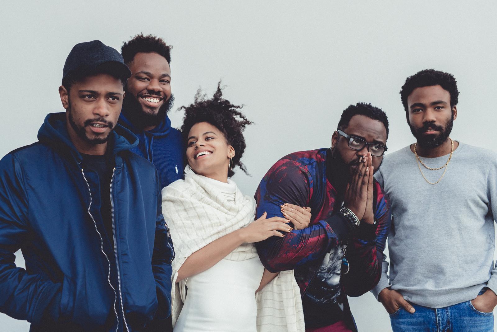The cast of  Atlanta