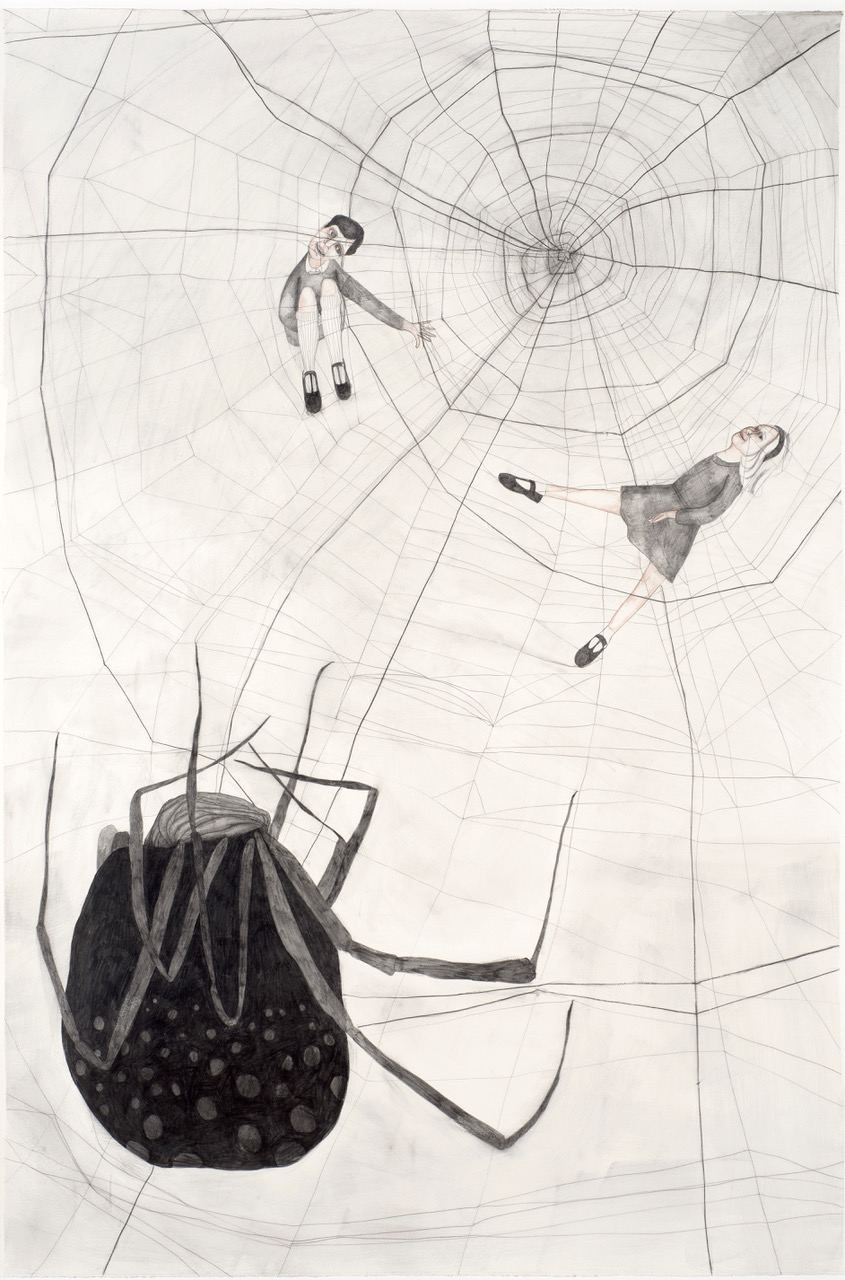 Christy Burdock, 'Peter, Jane and the Spider'