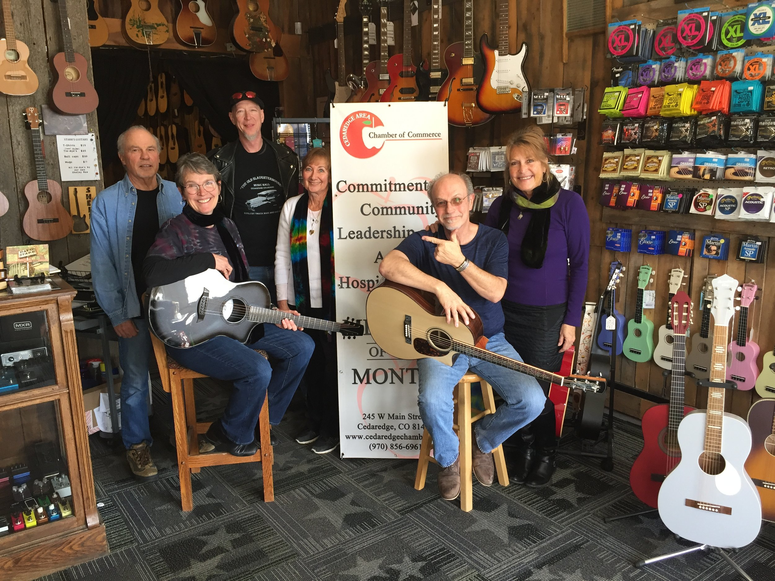 Starr's GuitarsMarch 2019 -
