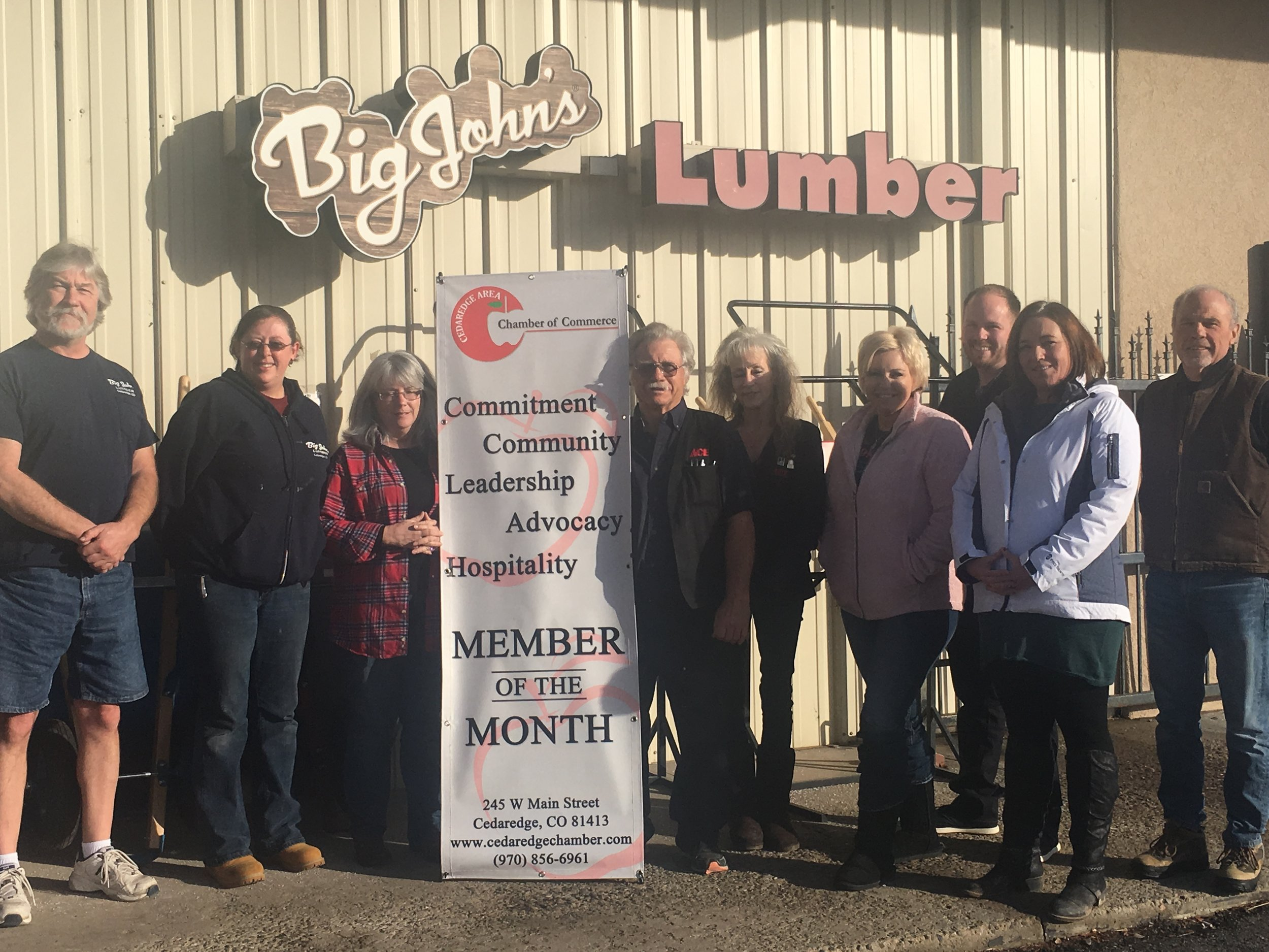 Big John's LumberJanuary 2019 -