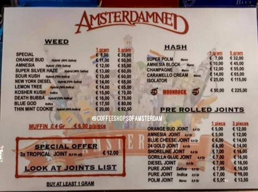Amsterdamned 10/07/19