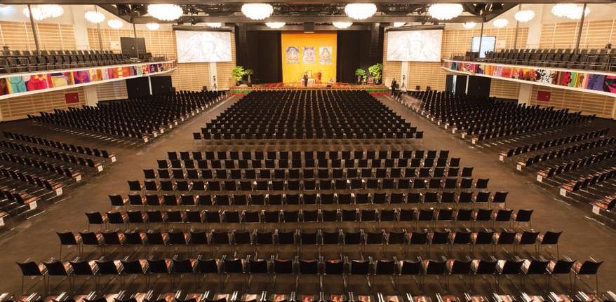 Tivoli kongressal, der benyttes til åbnings- og lukkesessionerne.  Foto:    Tivoli Hotel & Congress Center