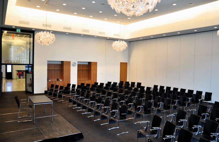 Konferencelokale, der benyttes til parallelsessionerne.  Foto:    Tivoli Hotel & Congress Center