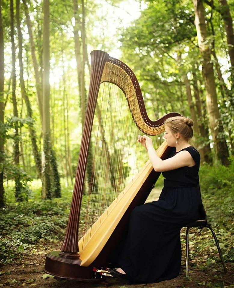 Britt Simons - harp -