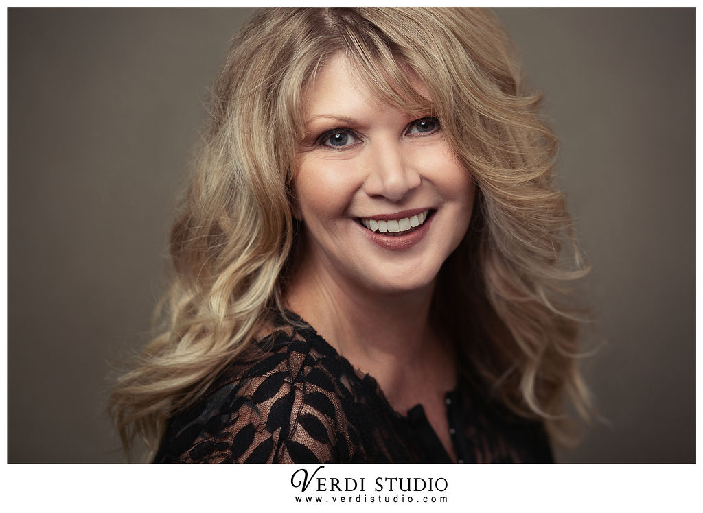 Laura Dominick - Photo by Verdi Studios; Hair by Michelle at Marilyn James; Make up by Sonnis Possibilities