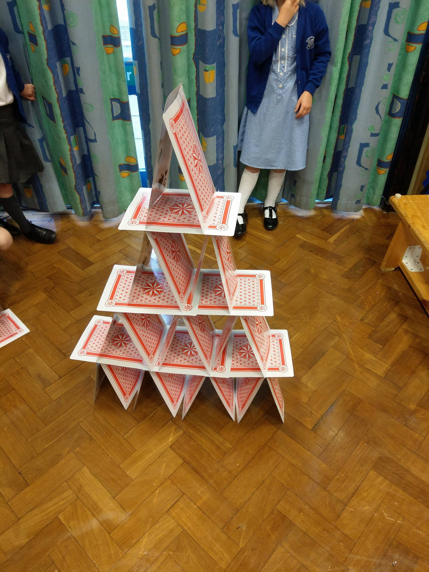 Best card tower ever!