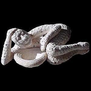 Woven Ceramic Figure