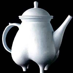 Thrown Quad Teapot