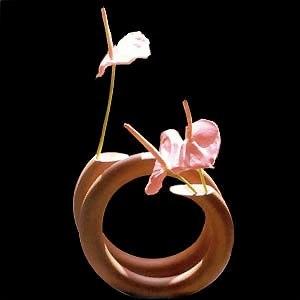 Thrown Spiral Vase