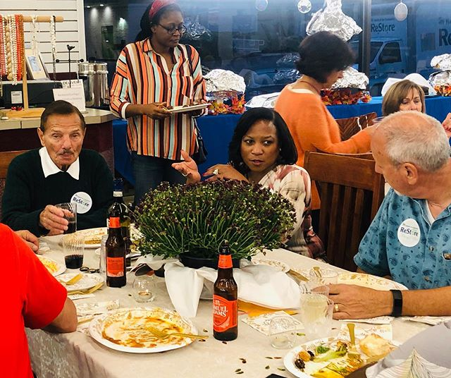 On October 7th, we held our Volunteer Dinner! It was a wonderful celebration of gratitude for the hard work of all our ReStore volunteers. Top volunteers for 2019 were honored and all enjoyed a fun evening of food and friendship!