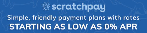 We now offer Scratchpay to help with any unexpected veterinary costs,  click here  to start the application process. You may also visit their website at  www.scratchpay.com  to learn more and read testimonies from other consumers.