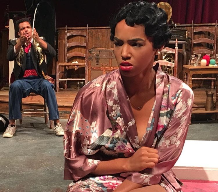 "As ""Ravishing"" Ruby Dyson in  The Very Last Days of the First Colored Circus.  (Restoration Stage)"