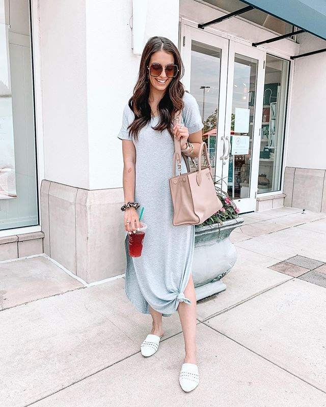 Some Jesus time + shopping makes for the best start to a new week!🙌🏼 Wore this comfy $23 maxi all day yesterday and could have slept in it bc it's seriously that good!!🤣 // Also found the perfect summer starbs drink, it's so refreshing! What to ask for: Venti mango dragonfruit refresher with lemonade instead of water!🥭😋 http://liketk.it/2BWUY #liketkit @liketoknow.it #carlylethorntonfashion #amazonfashion