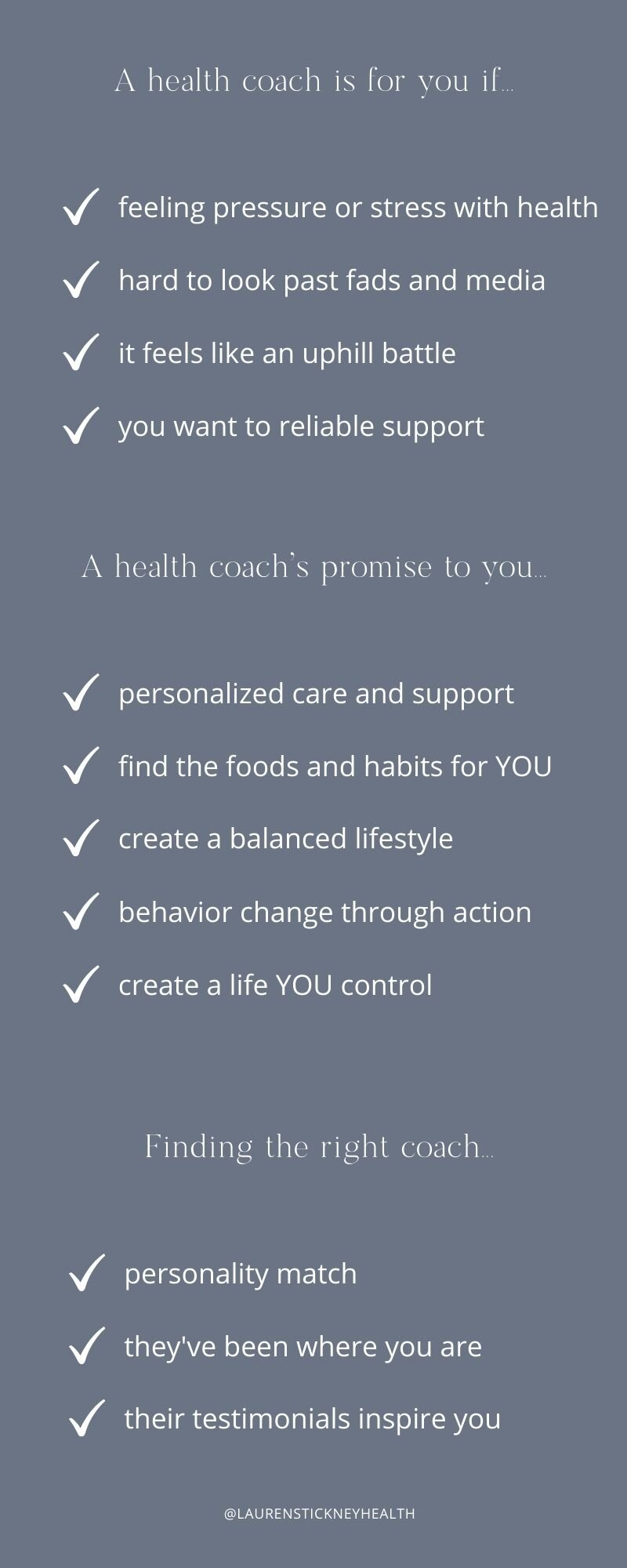 Is Health Coaching Legit 5 Reasons To Hire A Health Coach Lauren Stickney Health