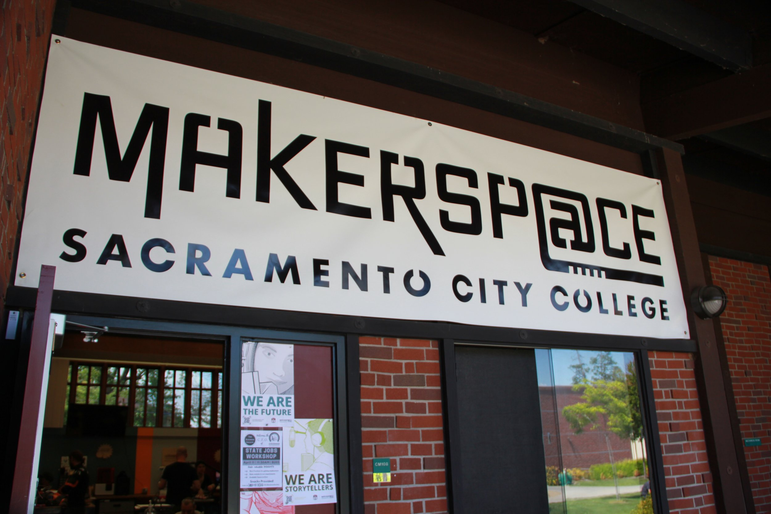 """Sac City Makerspace """"Soft Opens."""" - Sacramento City College / Posted Feb 10, 2018By Michelle Zamora"""