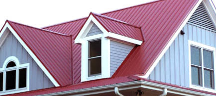 Red Metal Roofing