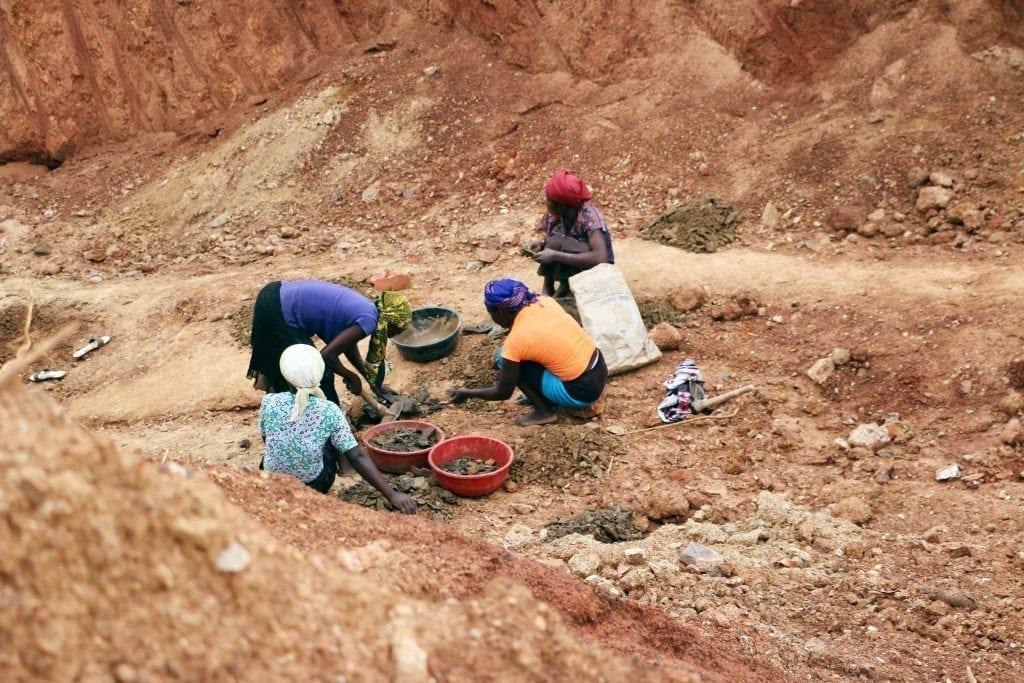 Photo Credit Fairphone.com: Women working at a mine in Busia, Uganda.