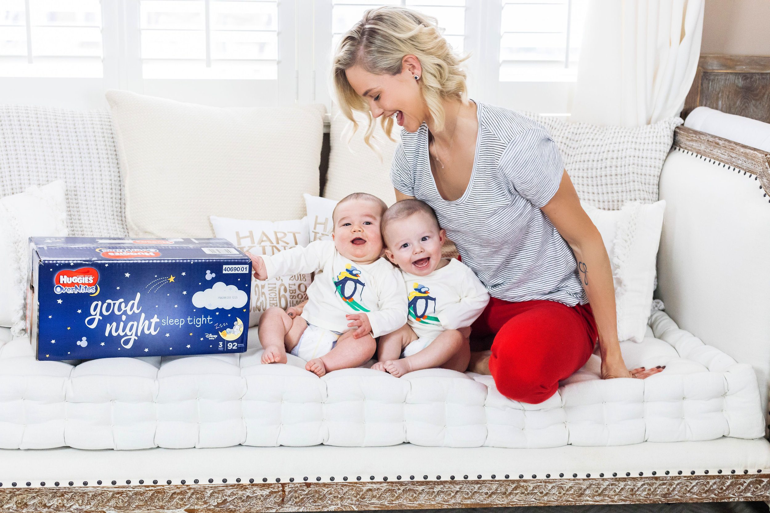 HUGGIES© DIAPERS - We curated content for Meghan's paid partnership with Huggies© Diapers.