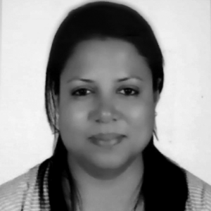 Aarati Sharma  est la coordinatrice du programme «My Rights, My Voice» à Oxfam International au Népal, travaillant sur le mariage précoce et forcé des enfants et la violence contre les femmes et les filles.