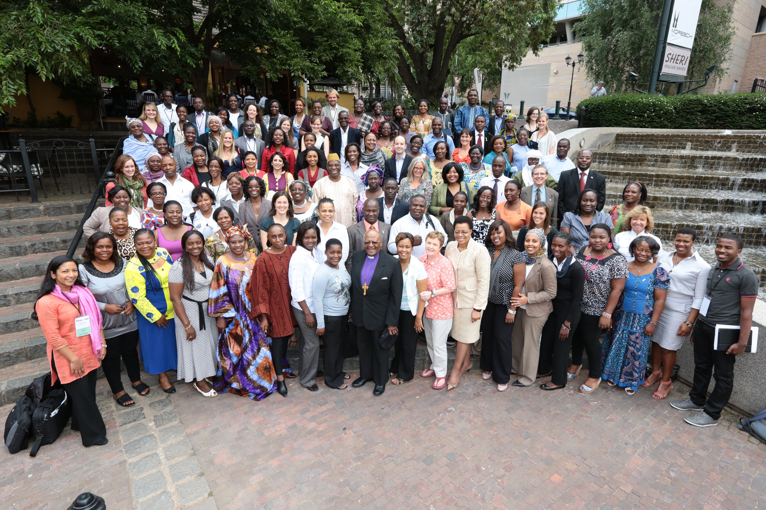 Girls Not Brides  members at the first regional meeting for sub-Saharan Africa in Johannesburg, South Africa, in November 2012.