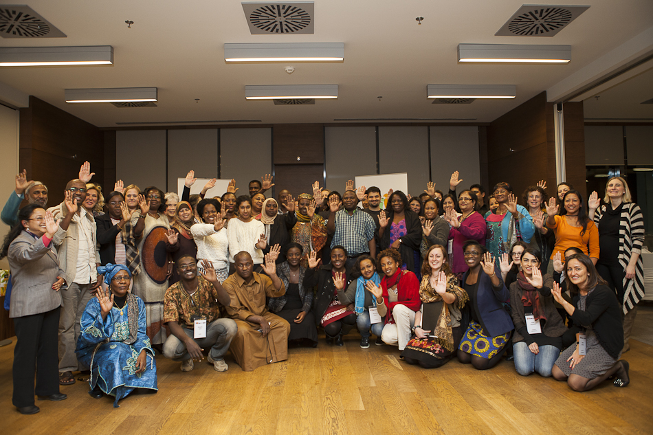Girls Not Brides  National Partnerships at the first workshop for National Partnerships and coalition coordinators. It was held in Istanbul, Turkey, in February 2013.
