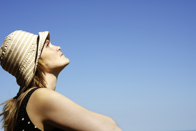 Woman Looking at the Sky.jpg