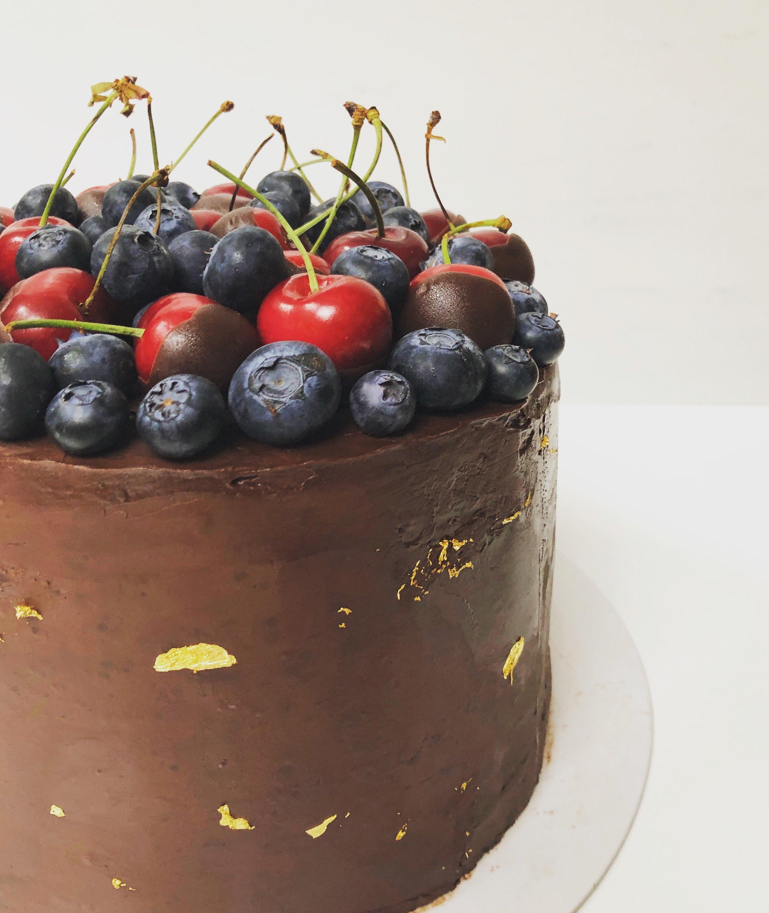 Ultimate Chocolate & Cherry Cake