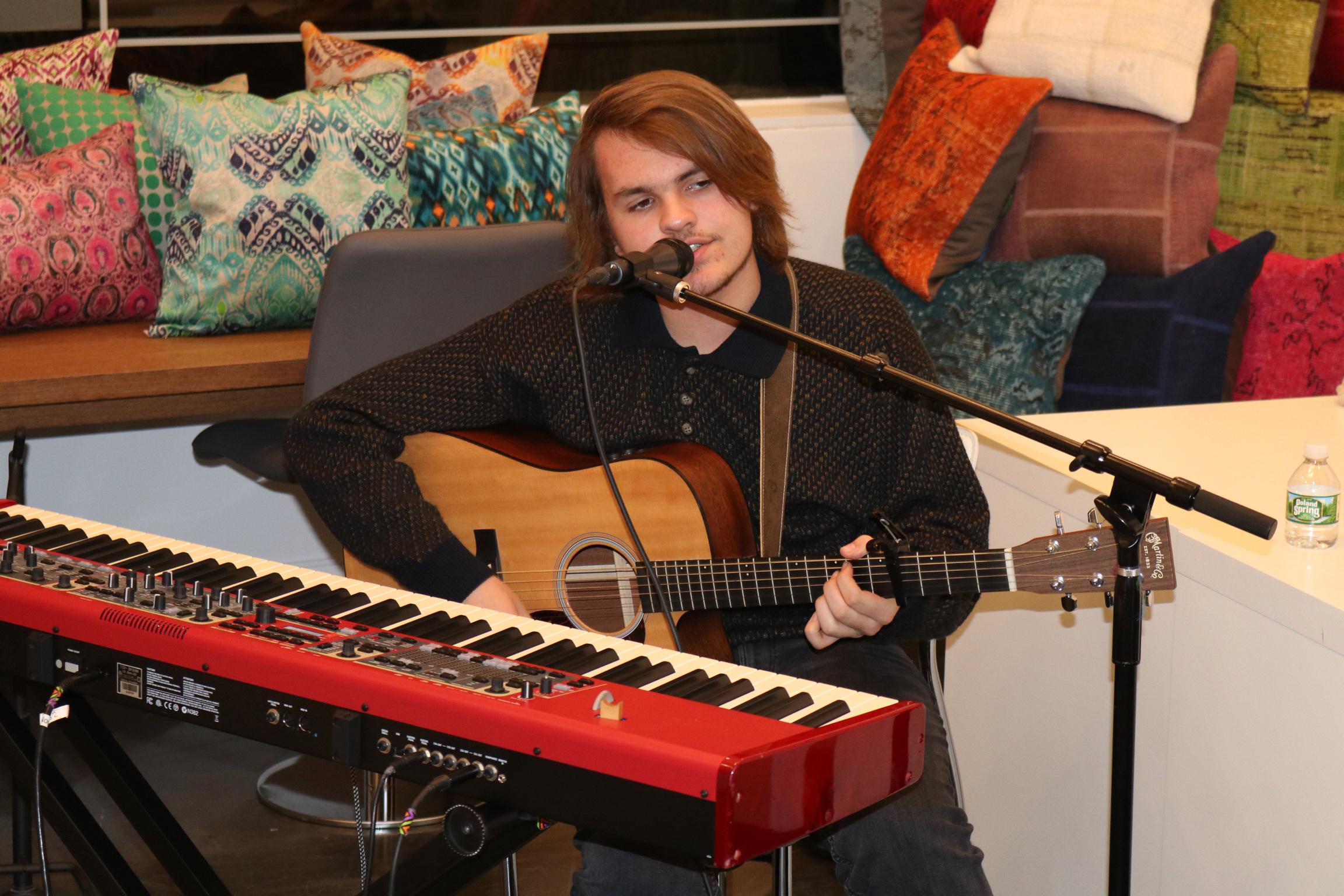 Musical performance at RBDC 12/7/17