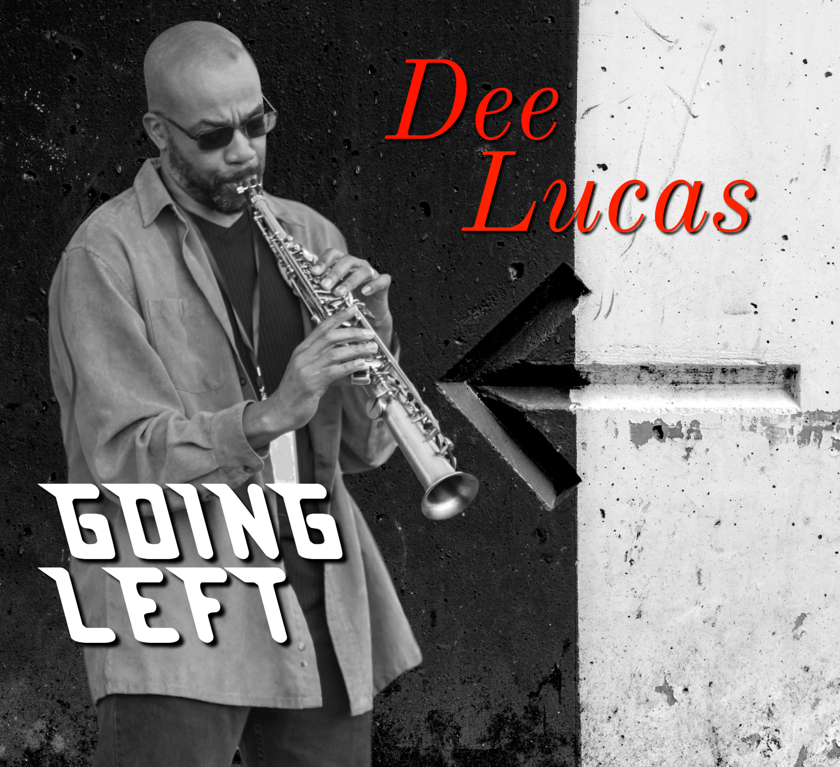 "The new CD from saxophonist Dee Lucas!  Going Left  contains seven new tracks including the hit singles ""Take the L"", ""Zimbabwe"" and the title track. Dee is joined by a group of stellar musicians: David P. Stevens, Joel Del Rosario, Karey Davis, Lew Laing, Jr., Roberto Vally, Keith Lewis, Andrew Freeman, Phil Davis, Dee Cole, Britt Frappier, and Kweli Stevens."