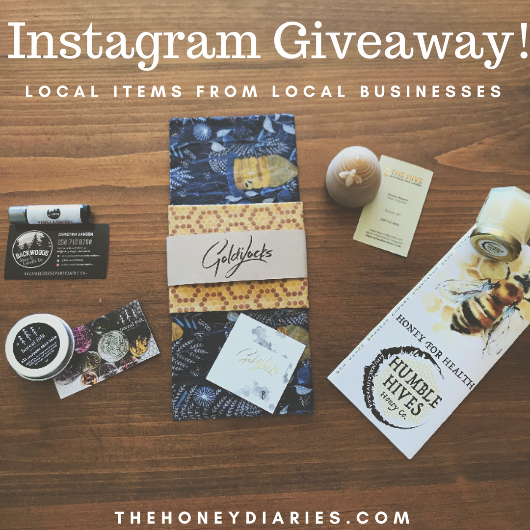 Instagram Giveaway! — The Honey Diaries