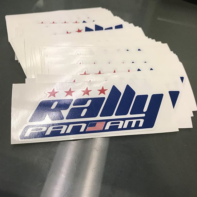 New RPA stickers made it to the shop! Thanks for knocking the new logo and stickers out for us @megladesigns ! #rallypanam #dakar #rally #rallylight #bajarally #sonorarally #coast2coastrally #dirtbike #dualsport #advriders