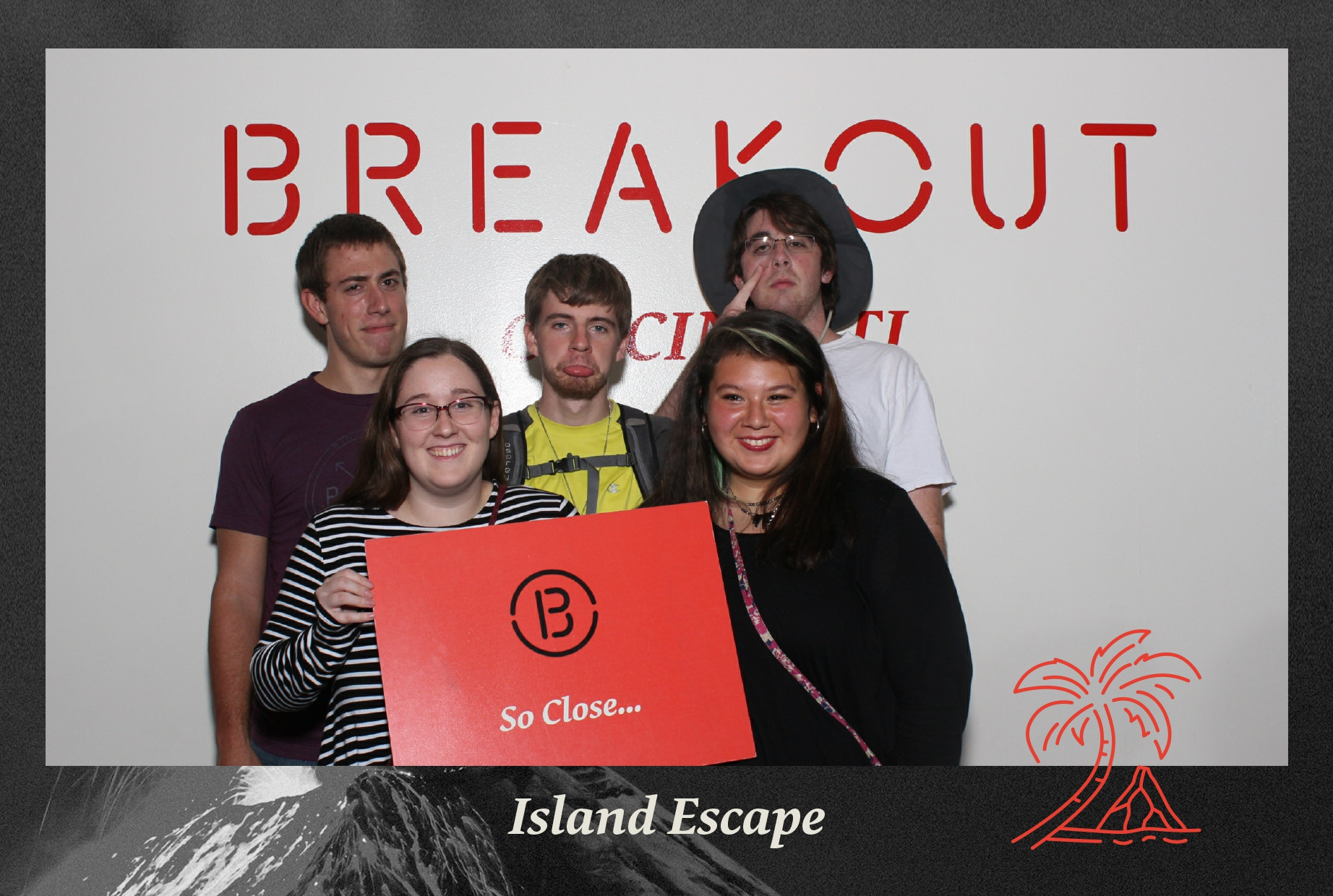 One of the teams at 2017's Extravaganza. They lost... Photo by Breakout Games.