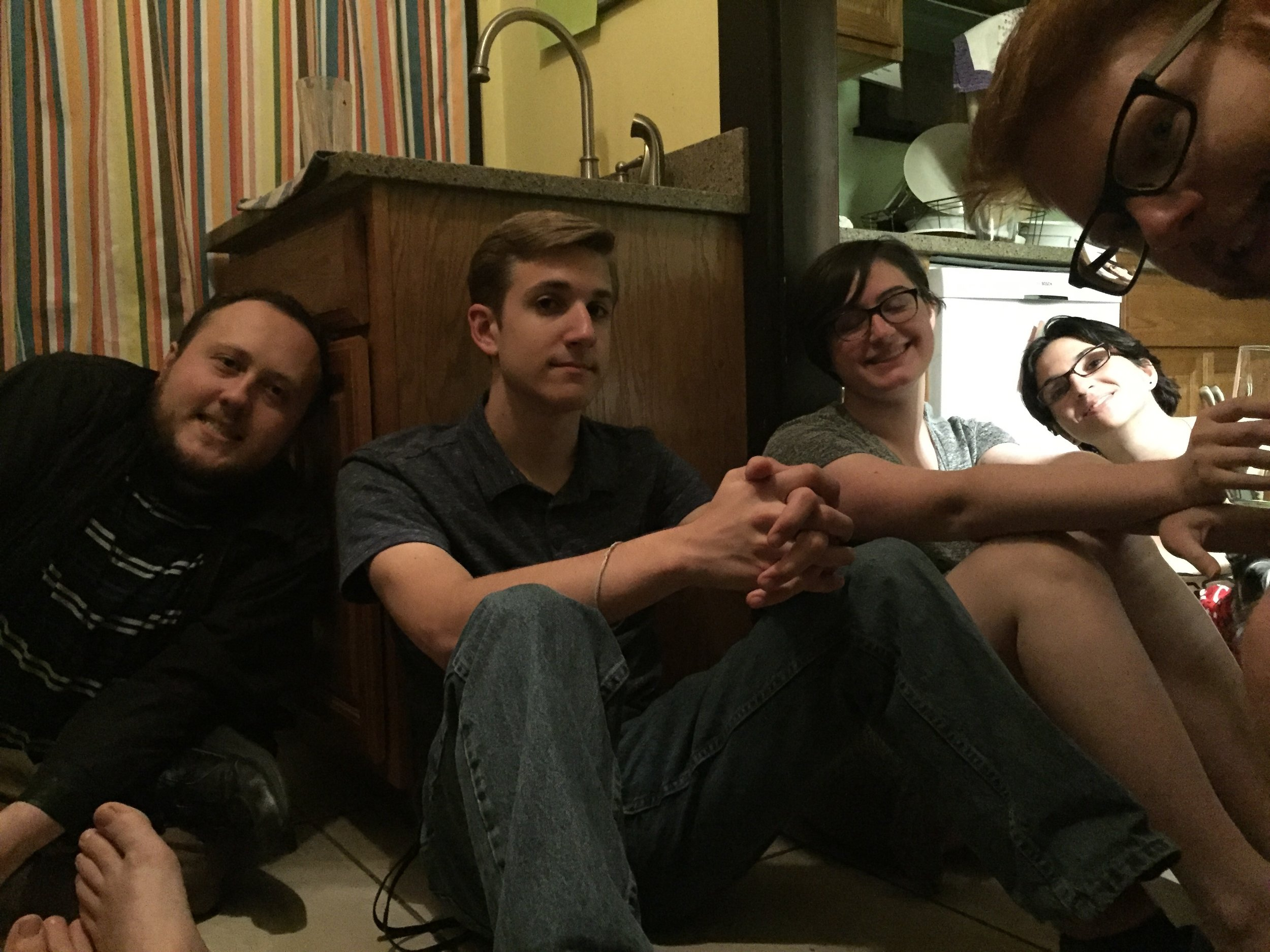Matthew, Caleb, Rose, Ashley, Ben.Photo by Alice Connor.
