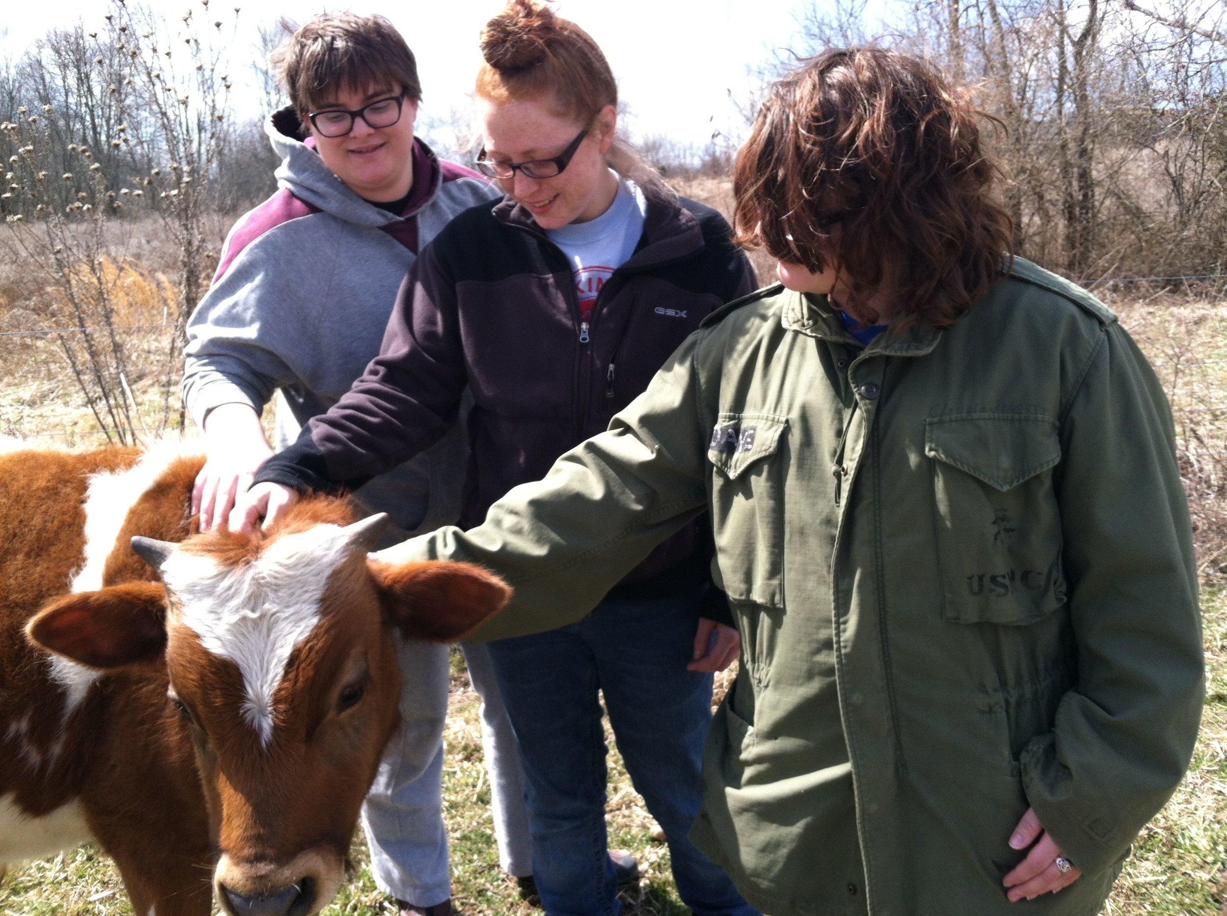 spring break to Good Earth Farm
