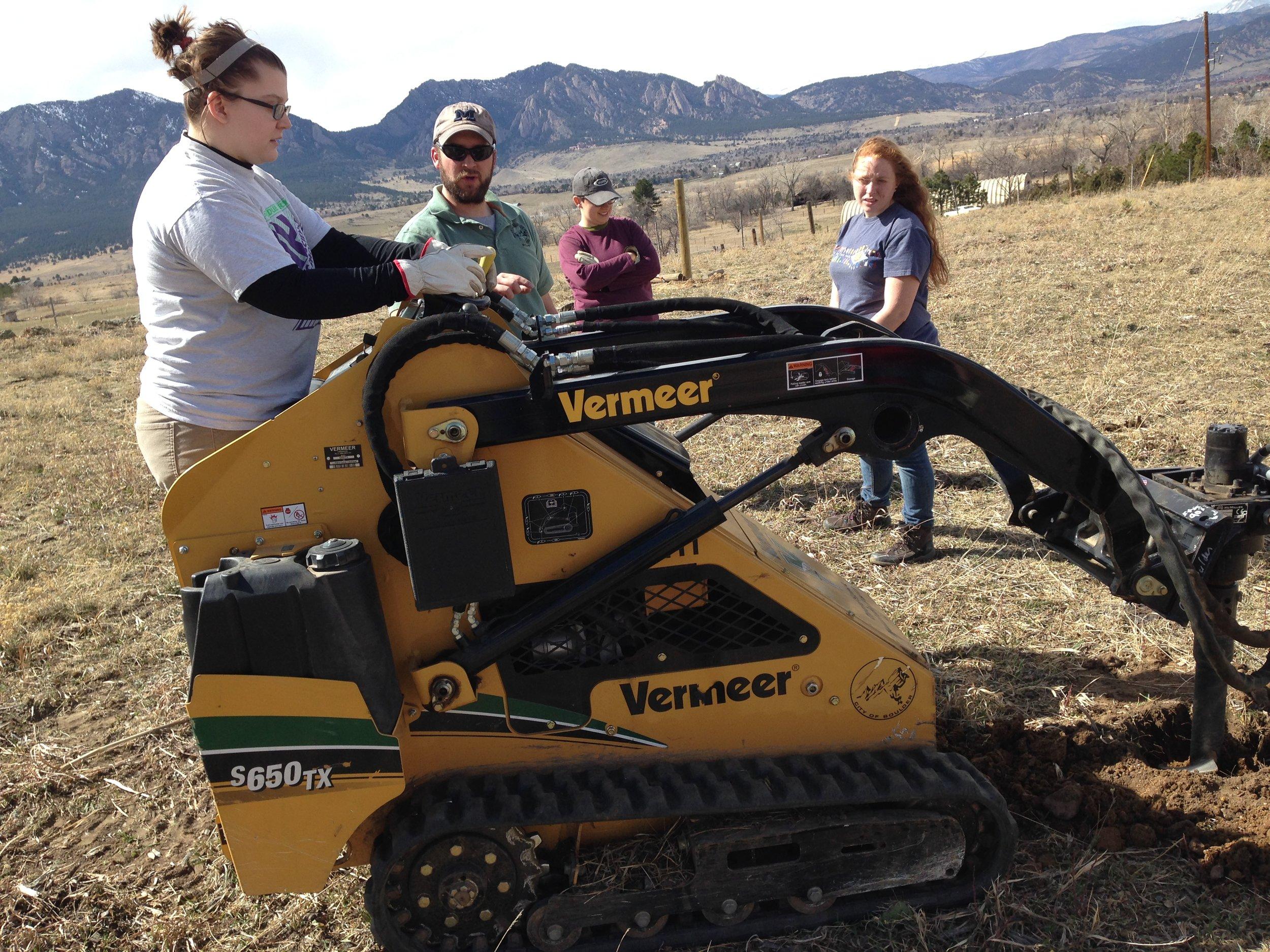 spring break service trip to Boulder