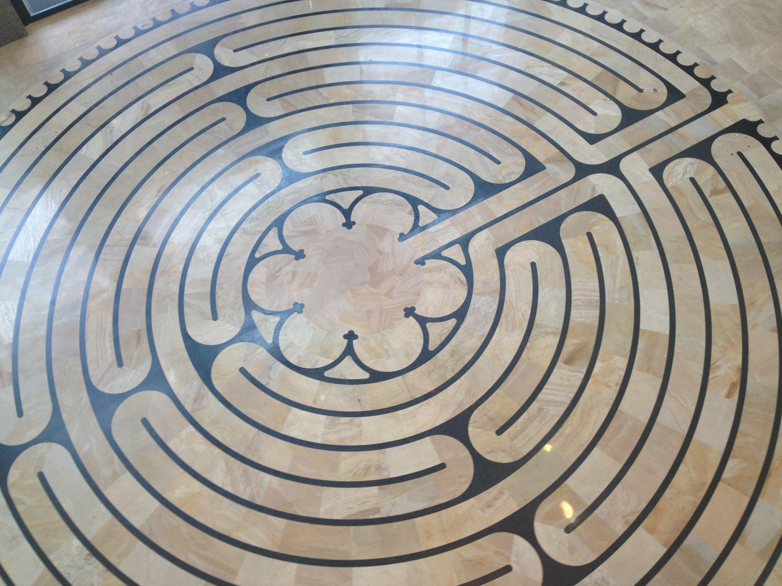 second labyrinth we walked in Denver
