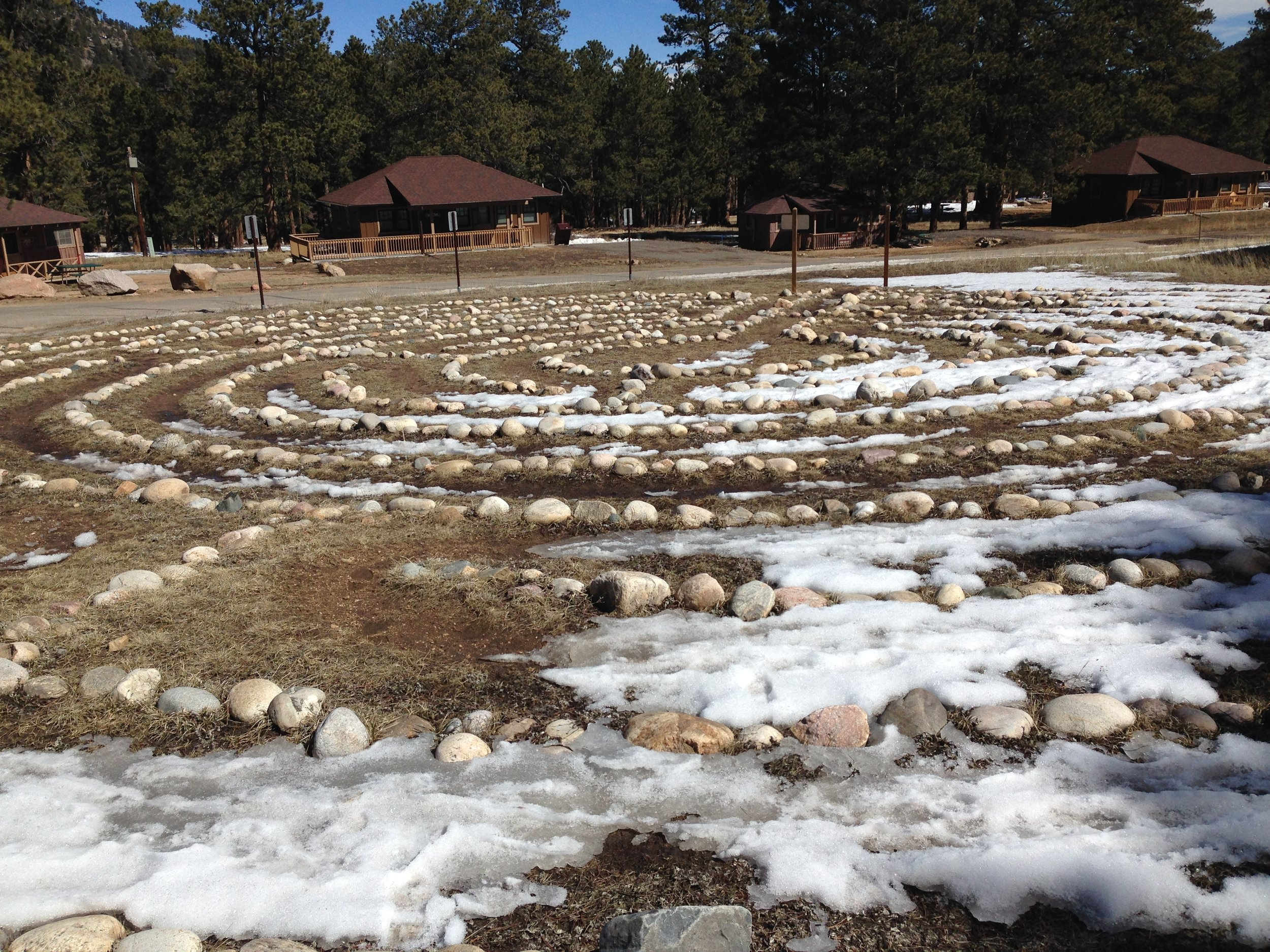 fourth labyrinth, this at YMCA of the Rockies