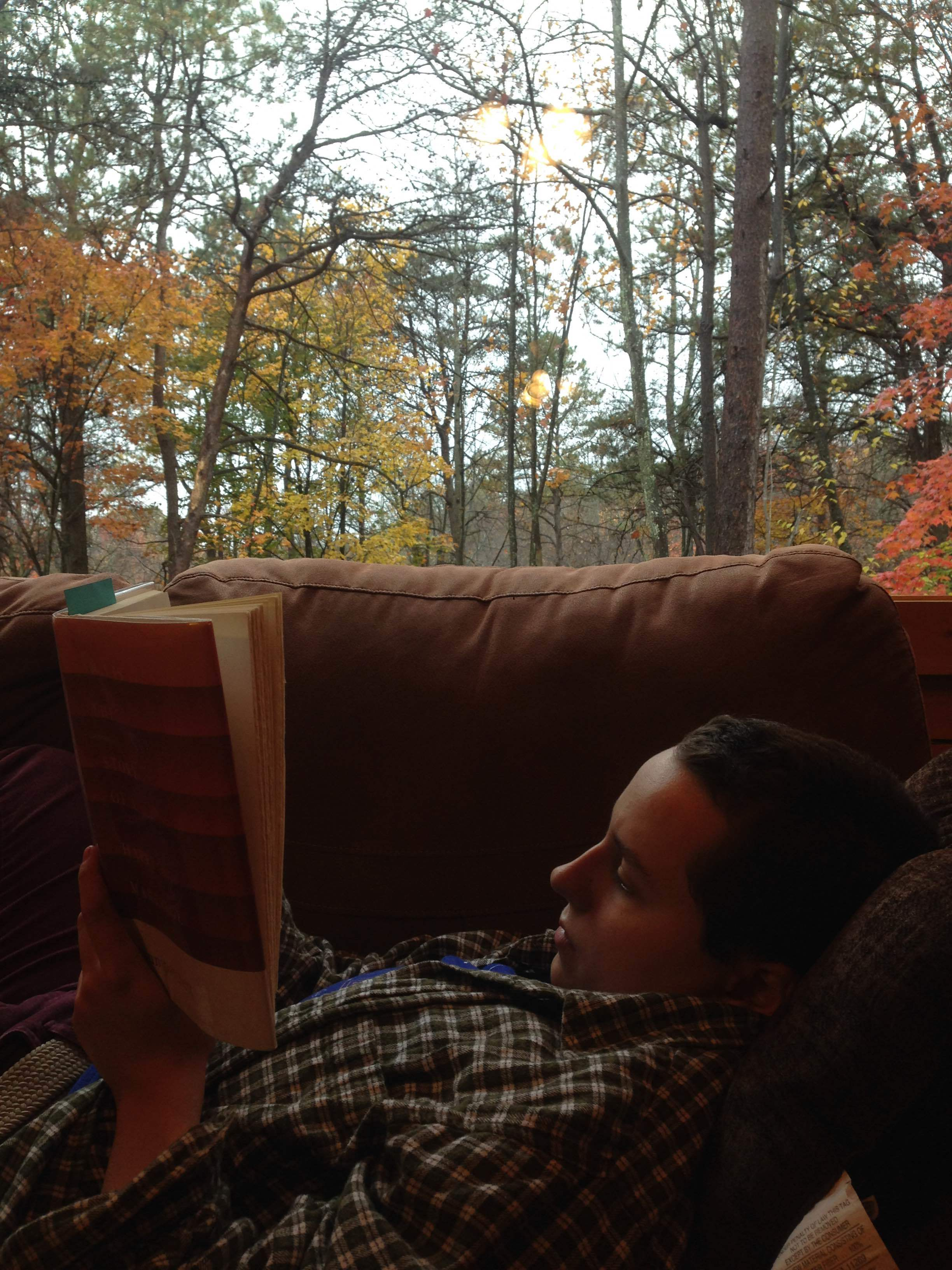 Fall retreat in Hocking Hills