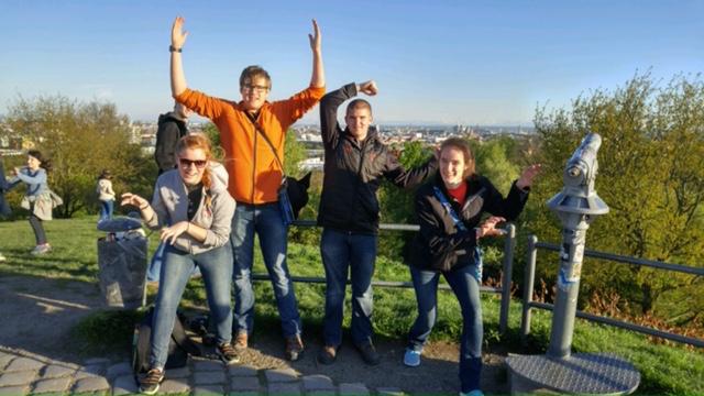In Munich Olympiapark.